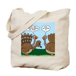 Turkey Peacock Disguise Tote Bag
