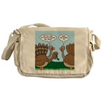 Turkey Peacock Disguise Messenger Bag