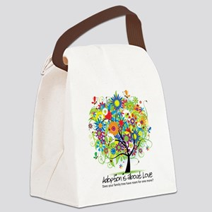 2-FAMILY TREE ONE MORE Canvas Lunch Bag