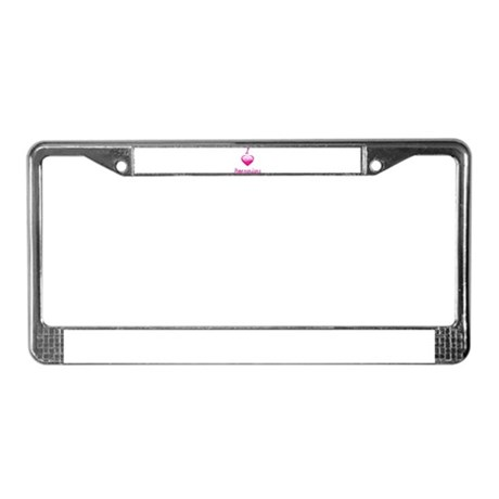 I Love/Heart Pomeranians License Plate Frame