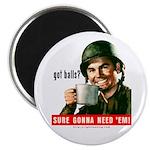 Got balls? Magnet