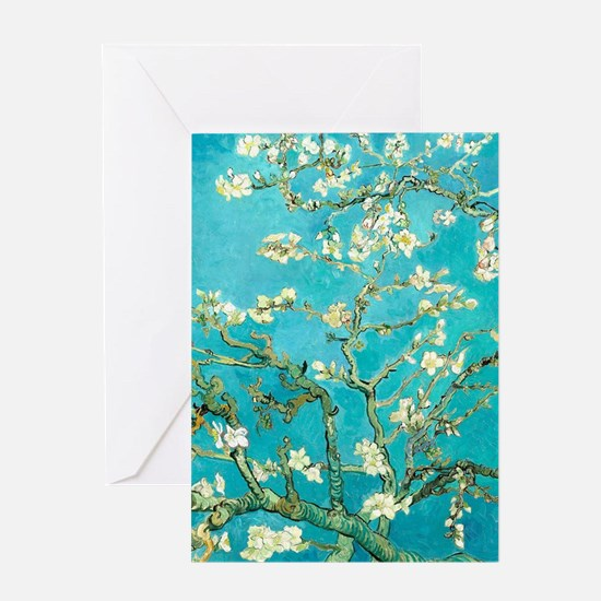 Van Gogh Almond Blossoms Greeting Cards