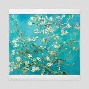 Van Gogh Almond Blossoms Queen Duvet