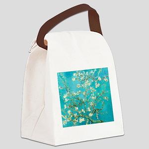 Van Gogh Almond Blossoms Canvas Lunch Bag