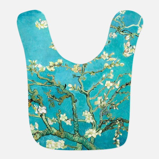 Van Gogh Almond Blossoms Polyester Baby Bib