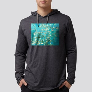 Van Gogh Almond Blossoms Mens Hooded Shirt