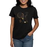 Steampunk Russo Victorian Tim Women's Dark T-Shirt