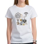 Steampunk Russo Victorian Time Con Women's T-Shirt
