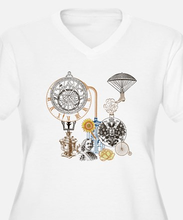 Steampunk Russo V T-Shirt