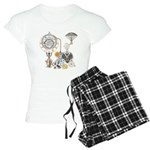 Steampunk Russo Victorian T Women's Light Pajamas