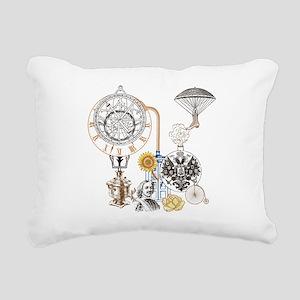 Steampunk Russo Victoria Rectangular Canvas Pillow