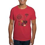 Steampunk Russo Victorian Time Contra Dark T-Shirt