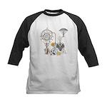 Steampunk Russo Victorian Tim Kids Baseball Jersey