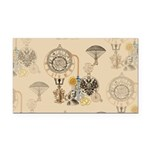 Steampunk Russo Victorian Tim Rectangle Car Magnet