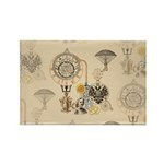 Steampunk Russo Victori Rectangle Magnet (10 pack)