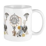 Steampunk Russo Victorian Time Contrapt Mug