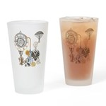 Steampunk Russo Victorian Time Cont Drinking Glass