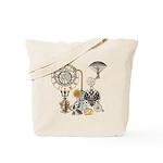 Steampunk Russo Victorian Time Contraptio Tote Bag