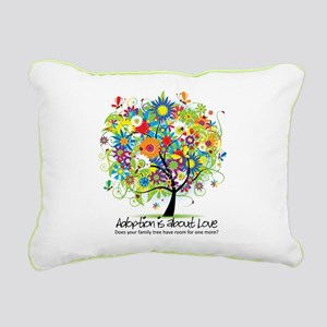 2-FAMILY TREE ONE MORE Rectangular Canvas Pill