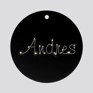 Andres Spark Ornament (Round)