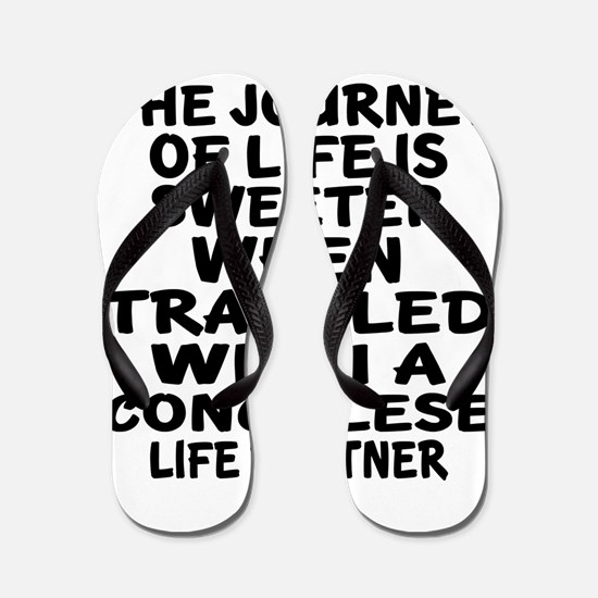 Traveled With Congolese Life Partner Flip Flops