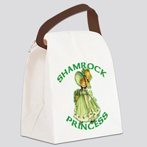 Shamrock Princess Irish Canvas Lunch Bag