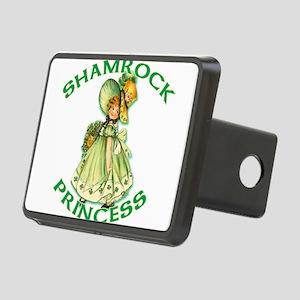 Shamrock Princess Irish Rectangular Hitch Cover