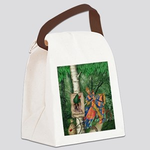 Cairn Terrier Robin Hood Canvas Lunch Bag