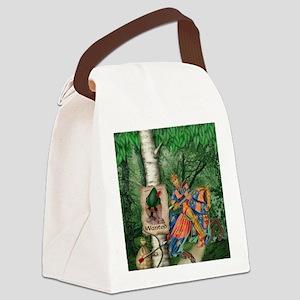 Cairn Terrier Robin Hood Canvas Lunch Bag