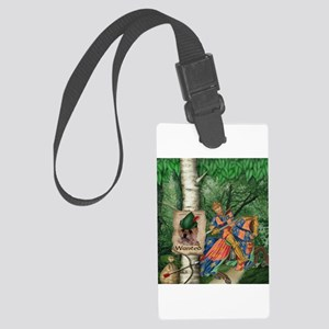 Cairn Terrier Robin Hood Large Luggage Tag