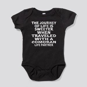 Traveled With Comoran Life Partner Baby Bodysuit