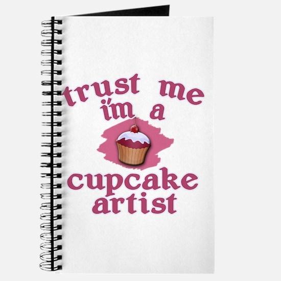 Trust Me I'm a Cupcake Artist Journal