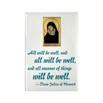 All Will Be Well Rectangle Magnet (100 pack)