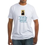 All Will Be Well Fitted T-Shirt