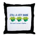 Hot Babe Throw Pillow