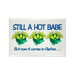 Hot Babe Rectangle Magnet