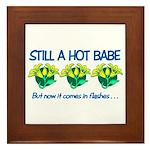 Hot Babe Framed Tile
