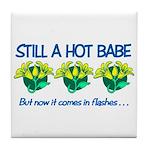 Hot Babe Tile Coaster