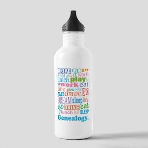 Genealogy Stainless Water Bottle 1.0L