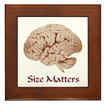 Size Matters Framed Tile
