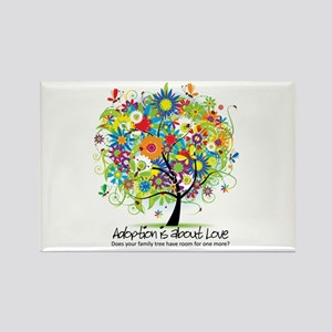 2-FAMILY TREE ONE MORE Rectangle Magnet
