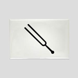 Tuning fork Rectangle Magnet