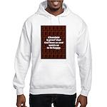 Chocolate Hooded Sweatshirt
