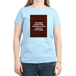 Chocolate Women's Pink T-Shirt