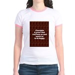 Chocolate Jr. Ringer T-Shirt