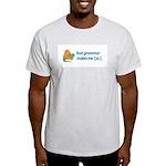 Bad Grammar Ash Grey T-Shirt
