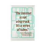 Internet Tubes Rectangle Magnet