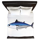 Skipjack Tuna fish King Duvet