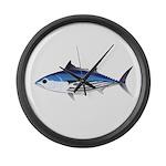 Skipjack Tuna fish Large Wall Clock