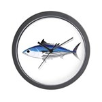 Skipjack Tuna fish Wall Clock